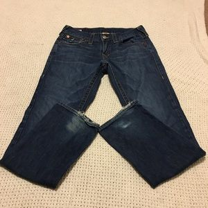 True Religion Ricky size 30 straight leg mid wash
